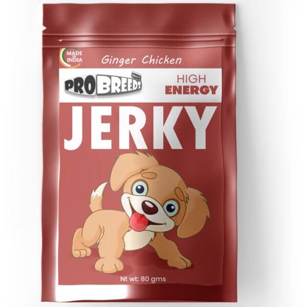pro breeds ginger chicken high energy jerky